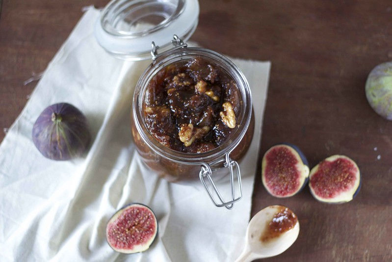 Fig and walnut jam