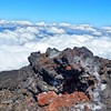 The view from the top of the Volcano rim at Mt Etna in Sicily. #landscape #landscapes #nature #stunning_shots #natureonly #naturelovers #volcano #sky #skyporn #worldplaces #etna #ig_europe_gallery#sky_captures #Nature_skyshotz #sicily #italy #mountains
