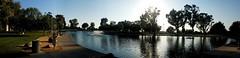 Heritage Park Pond Panorama