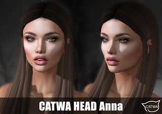 CATWA HEAD AnnaGrey