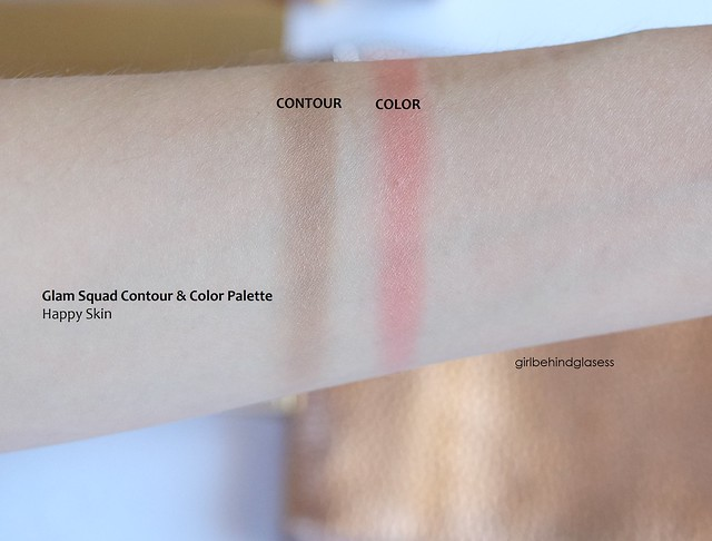 Happy Skin Glam Squad Contour & Color Palette swatch