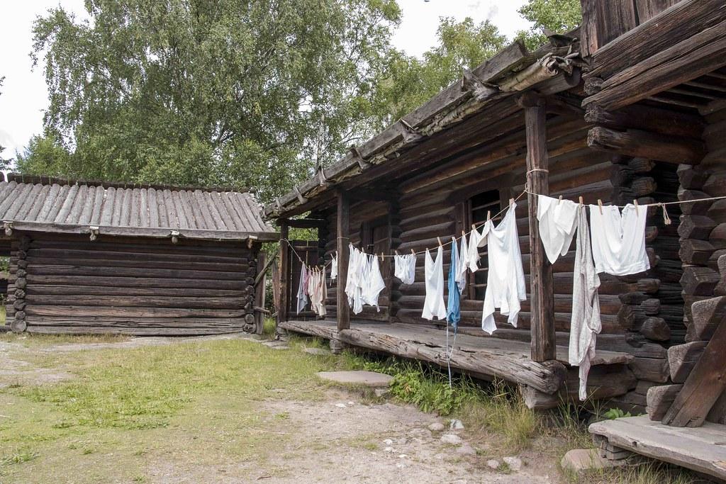 Stockholm Skansen Museum house 4