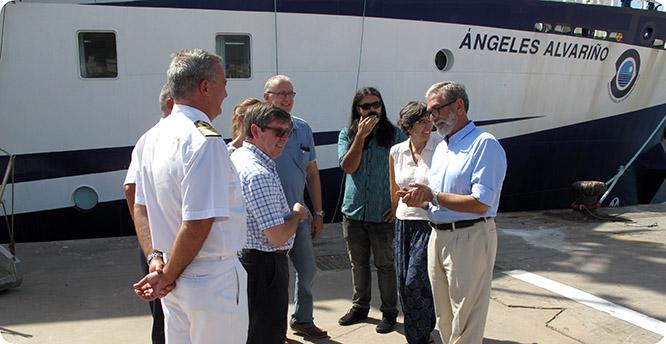 Parte de Cartagena la segunda expedición subacuática al pecio de Las Mercedes