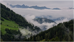 Misty Morning in Val Badia
