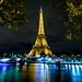 Lumière bleue sur la seine !!! by Bouhsina Photography