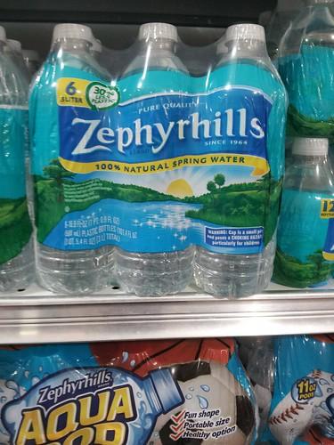 Zephyrhills in Publix