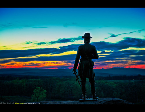 "Major General Gouverneur Kemble Warren - ""Hero of Little Round Top"" and the Guardian of the Gettysburg Sunset by Sam Antonio Photography"