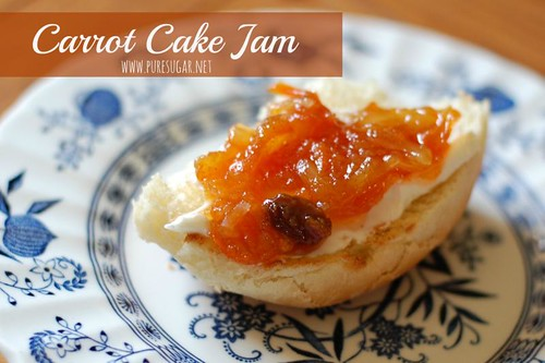 {Recipe} Carrot Cake Jam – Pure Sugar