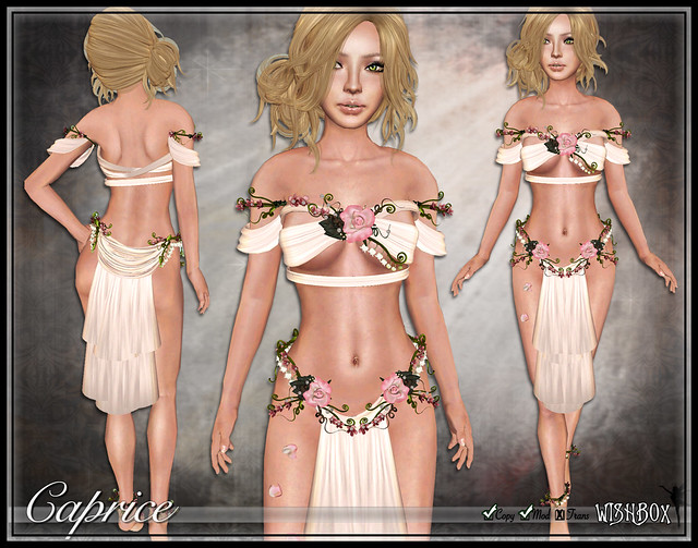 Caprice Fairy Silks Second Life Silks Fantasy