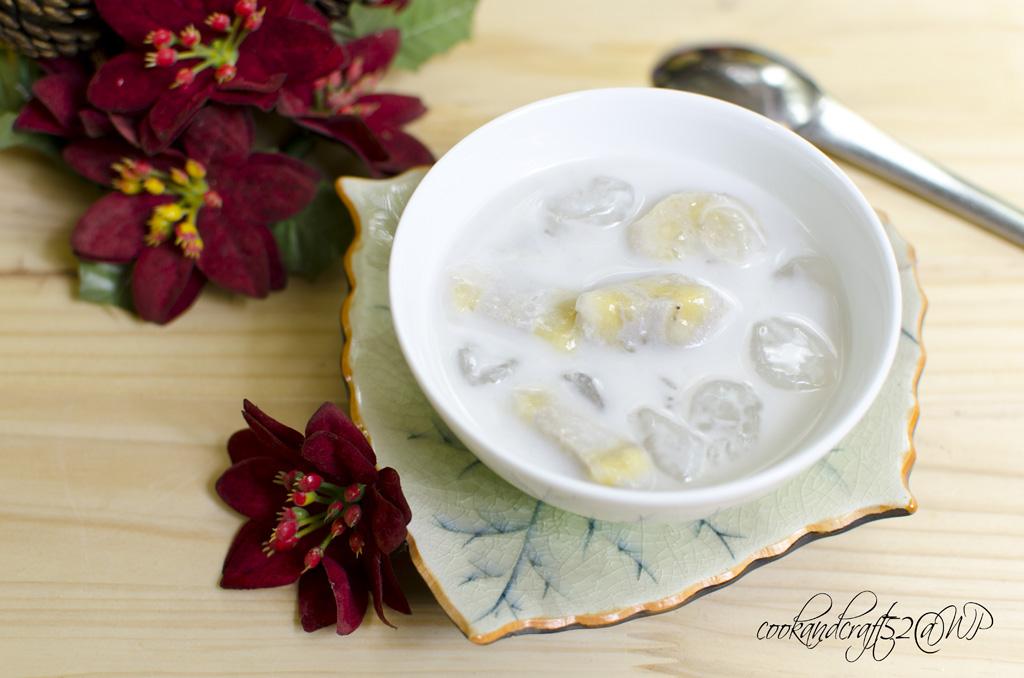 Chè chuối cốt dừa