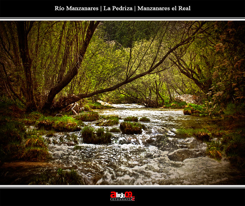 Río Manzanares | La pedriza | Madrid by alrojo09