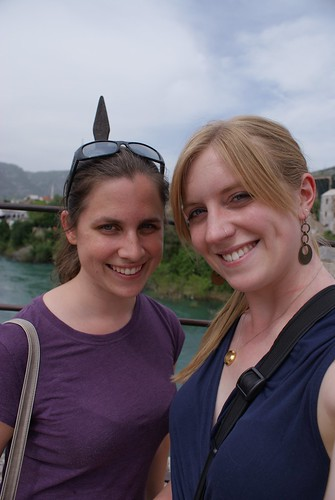 Rebecca and I on the Stari Most