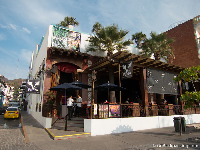 Typical bar on the Malecon