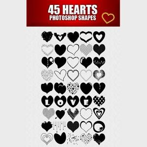 45-hearts