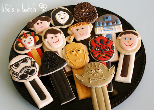 Star Wars PEZ Dispenser Cookies.
