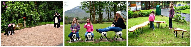 Childrens Play trail at Kylemore Abbey