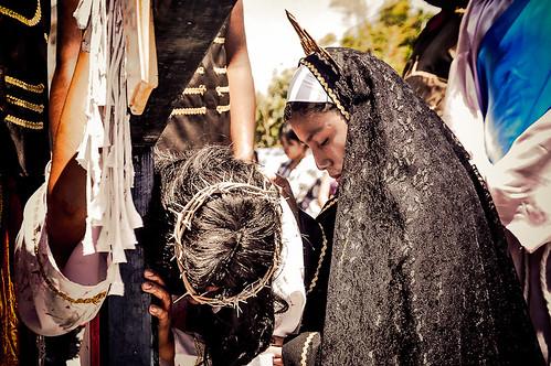 Vía Crucis en Chazumba (22)