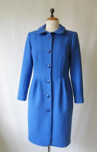 Blue coat front