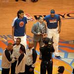Chris Copeland And Carmelo Anthony Receive April Awards