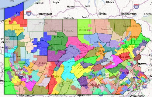What PA Republicans Could Have Done Devastating Maps Of PAs - Us representative district map pennsylvania