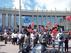 #autoexplotacion reivindicació davant fabricants de vehicles #salonauto de CGT Metall per explotació laboral