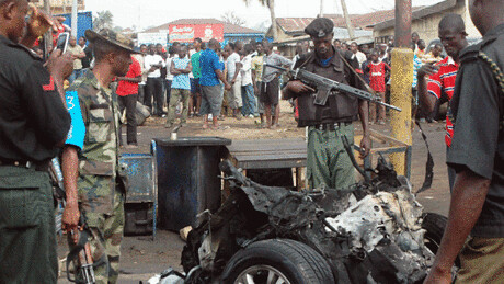 Niger car bombings on May 23, 2013. The operation was claimed by the Movement for Oneness and Jihad in West Africa based in northern Mali. by Pan-African News Wire File Photos
