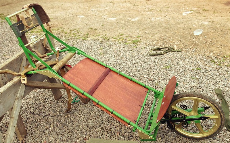 Our new handcart....