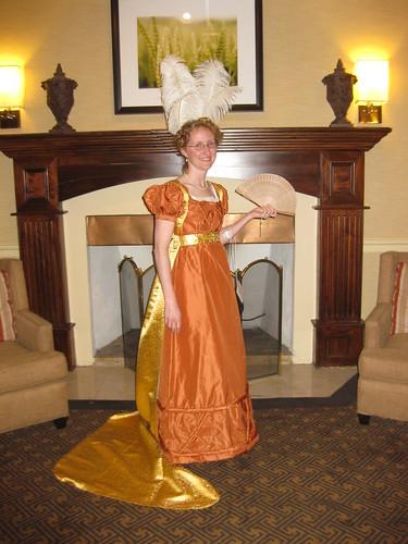 1820s Evening Dress