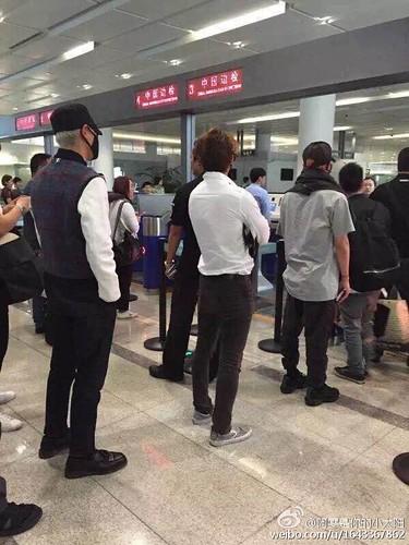BIGBANG GDTOPDAE arrival Hangzhou 2015-08-25 117