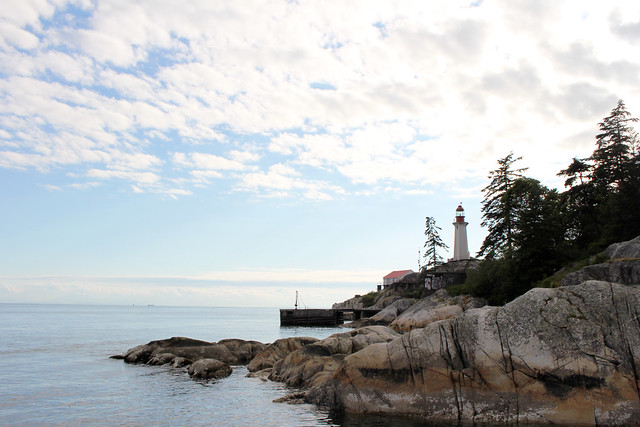 West Vancouver Lighthouse Park Lighthouse Cliff