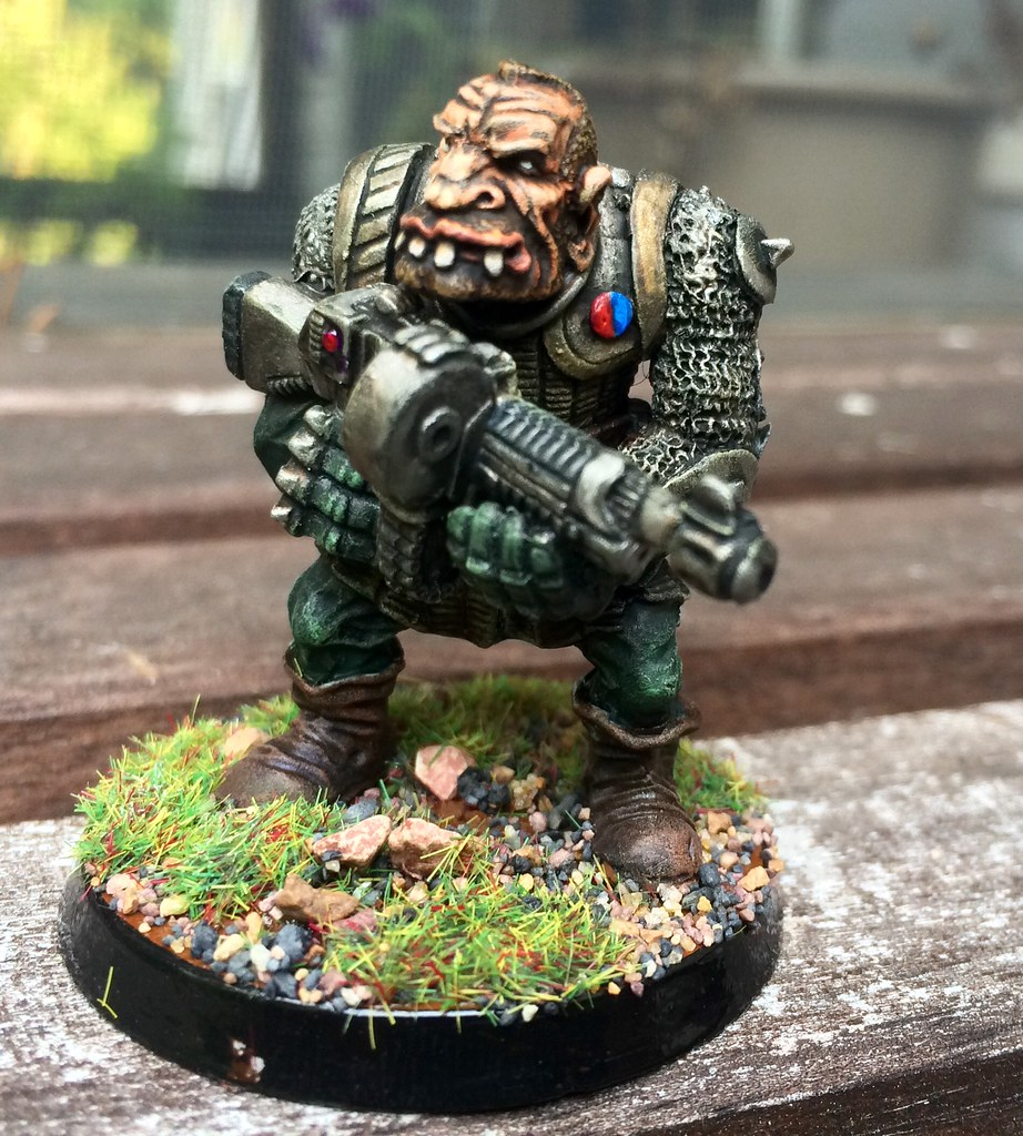 Rogue Trader Era Ogryn Painted September 2016 Flickr