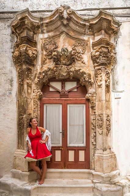 Elisa - Ostuni, Italy - Portrait photography