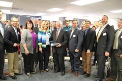Senator Cardin's Visit to DWE Plastics