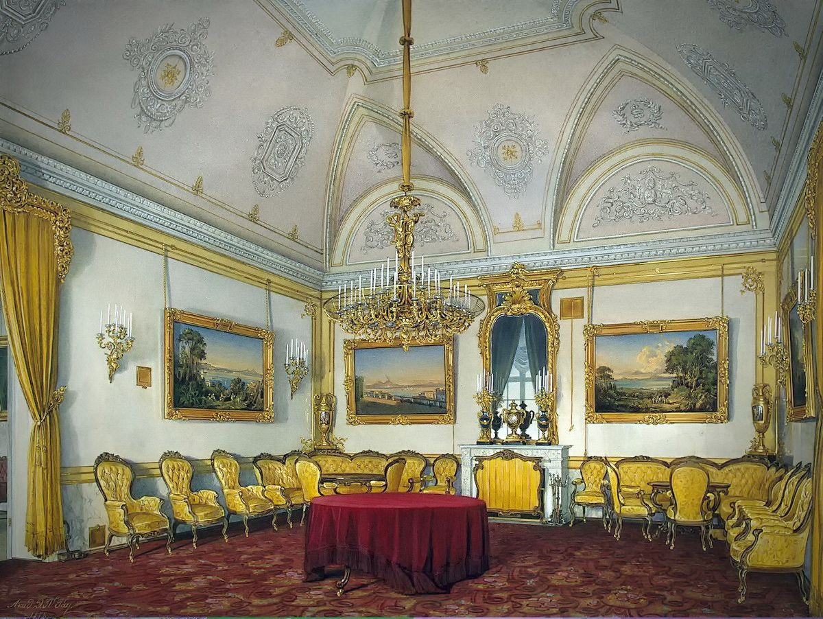 The Drawing-Room, 1871