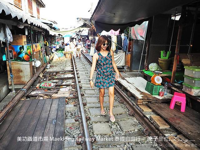 美功鐵道市場 Maeklong Railway Market 泰國自由行 31