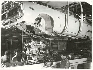 Vehicle assembly at General Motors, Upper Hutt*