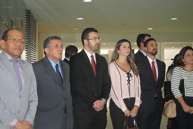 Ato Público reúne representantes da Magistratura e MP no Fórum de São Luís