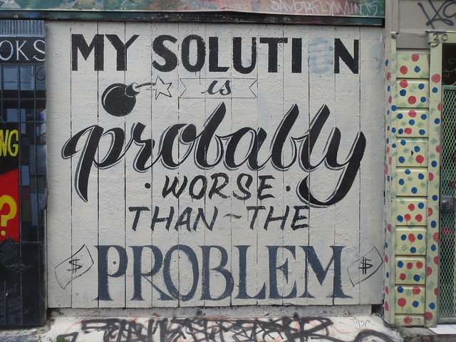 Mural Art: My Solution is Probably Worse Than the Problem
