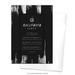 I think this invitation would be perfect for work Halloween parties #halloween #halloweenparty #halloween2016 #invitation #party