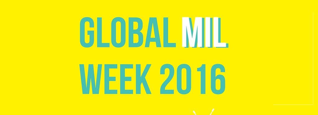 Semana Global de Alfabetização Midiática e Informacional