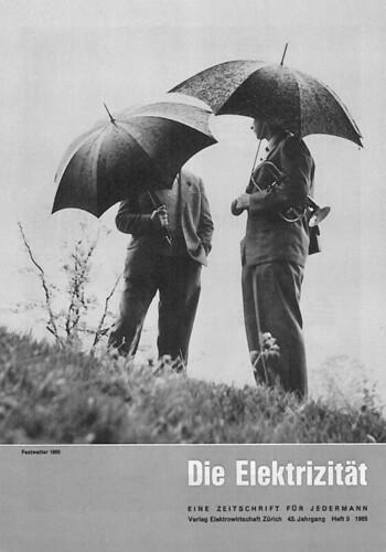Vor 1970 war «Die Elektrizitiät» schwarz-weiss