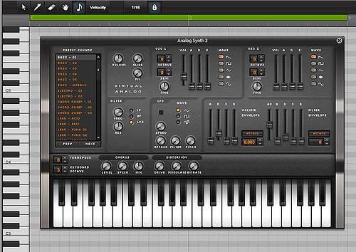 Audiosauna3  synt analogowy