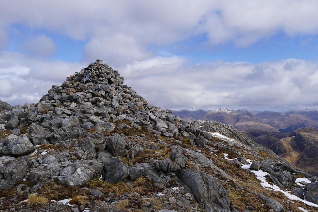 Summit of Sgurr Ghiubhsachain
