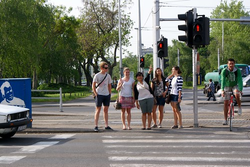Crosswalk in Zagreb