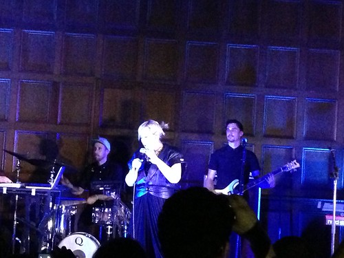 Alice Russell show at the First Unitarian Church