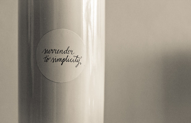 simplify your lifestyle