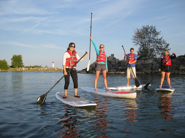 stand up paddleboarding, SUP Toronto, classes, rental, instructor, lessons