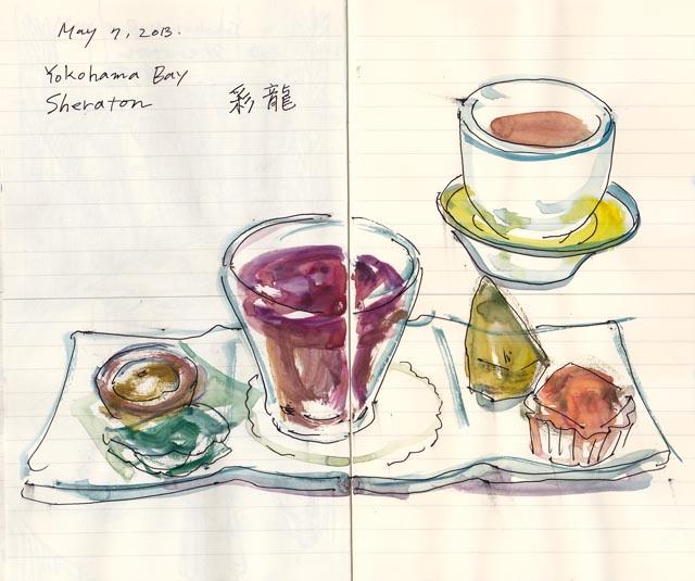 food sketch:dessert-2