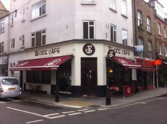 Picture of Becks Cafe, WC1R 4PS