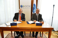 Signing of  Morocco: Convention on Mutual Assistance in Tax matters